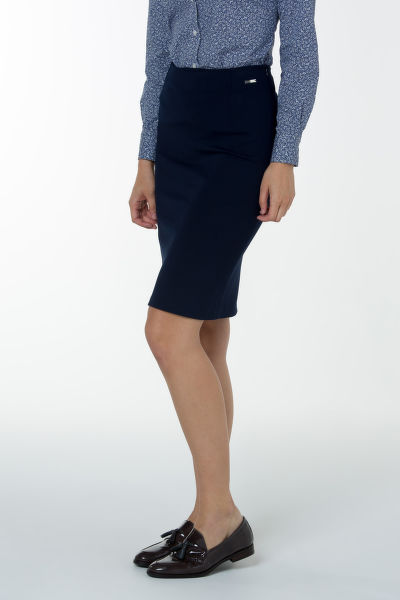Sukně GANT O1. JERSEY STRETCH PENCIL SKIRT