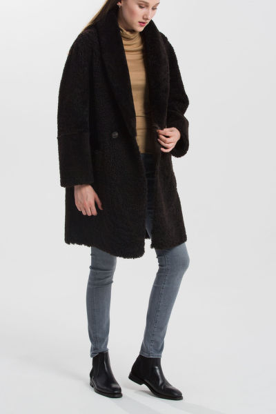 KABÁT GANT G2. REVERSIBLE SHEARLING COAT