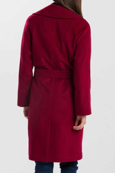 KABÁT GANT G1. WOOL WRAP COAT