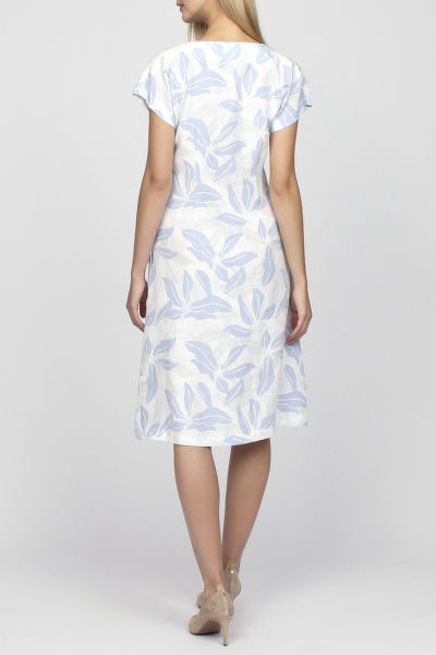 Šaty GANT O2. AIRY LEAF DRESS