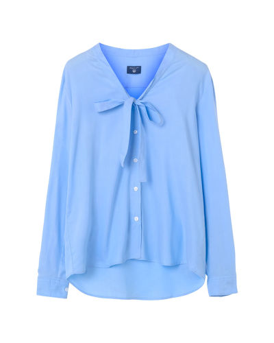 Košile GANT O1. TP OXFORD BOW BLOUSE