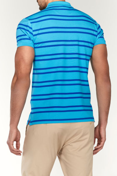 Polokošile TRICOLOR CONTRAST PIQUE SHORT SLEEVED RUGGER