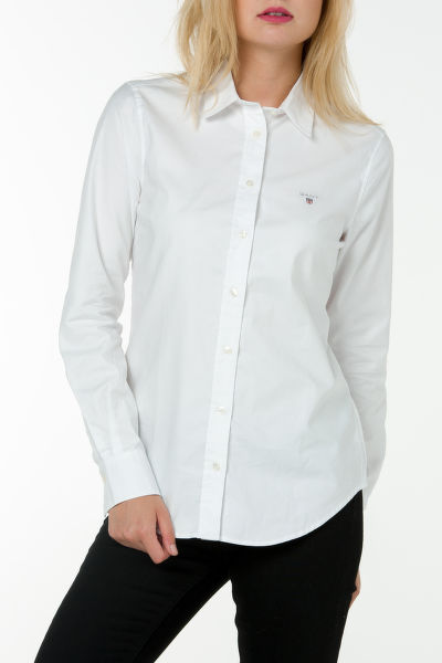 Košile GANT STRETCH OXFORD SOLID SHIRT