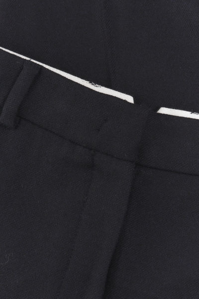 KALHOTY GANT D1. WASHABLE STR WOOL TAPERED PANT