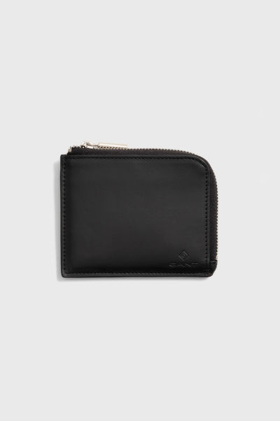 PENĚŽENKA GANT LEATHER ZIP WALLET
