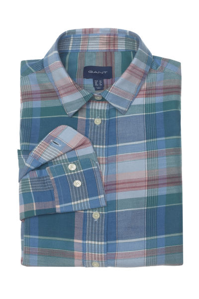 KOŠILE GANT D2.WINTER TWILL MADRAS CHECK SHIRT