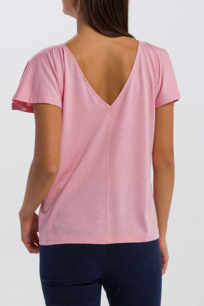 TRI?KO GANT O2. BACK V-NECK TOP