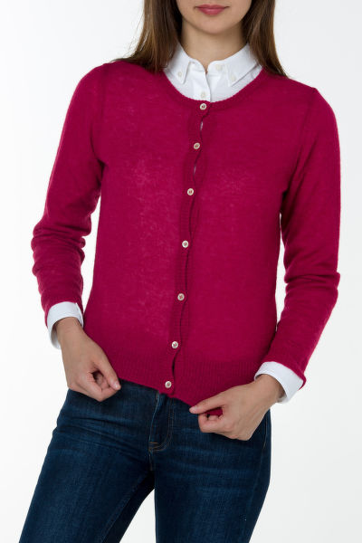 Svetr GANT O2. LIGHT ALPACA CARDIGAN