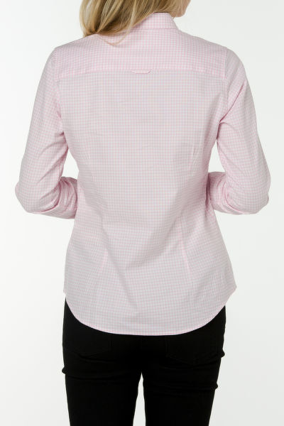 Košile GANT STRETCH OXFORD GINGHAM SHIRT