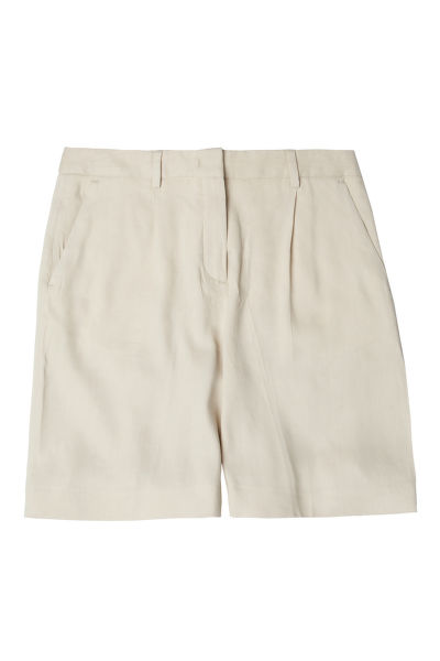 ŠORTKY GANT O2. STRETCH LINEN PLEATED SHORTS