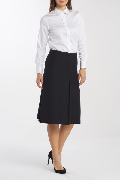SUKNĚ GANT D1. WASHABLE STRETCH WOOL SKIRT