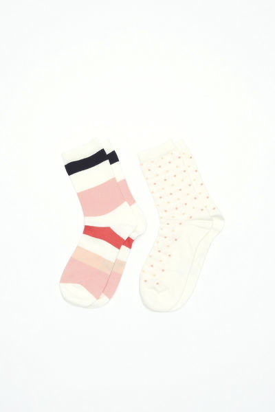 Ponožky GANT O1. 2-PACK MULTISTR/DOT SOCKS BOX