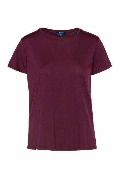 TRI?KO GANT PIMA COTTON C-NECK SS T-SHIRT