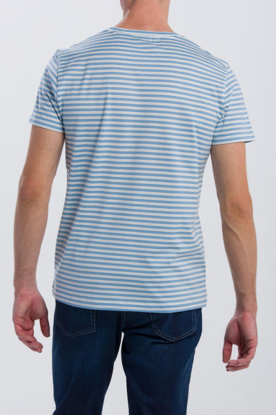 TRI?KO GANT O2. REPEAT STRIPE SS T-SHIRT