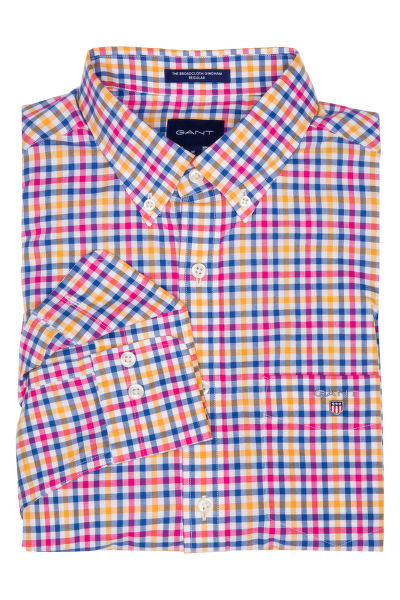 KOŠILE GANT THE B-CLOTH 3 COL GINGHAM REG BD