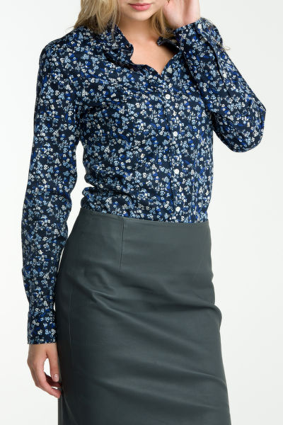 Košile GANT STRETCH BROADCLOTH MINI FLORAL SHIR