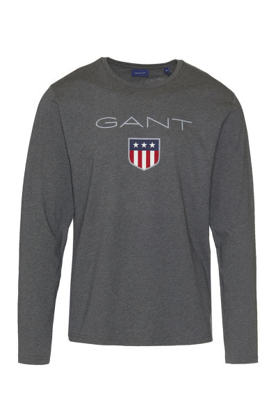 TRI?KO GANT SHIELD LS T-SHIRT