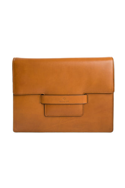 KABELKA GANT LEATHER SHOULDER BAG