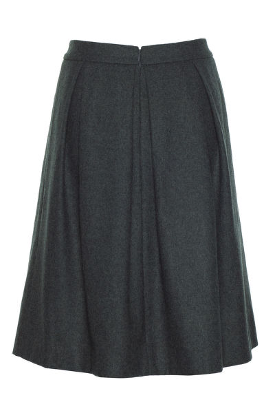 Sukn? GANT O2. WOOL PLEATED SKIRT