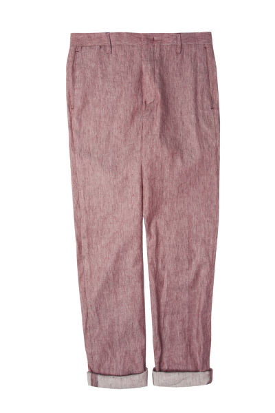 KALHOTY GANT G2. THE STRETCH LINEN SUIT PANT