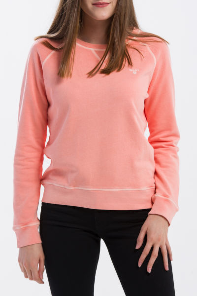 MIKINA GANT O2. SUNBLEACHED C-NECK SWEAT