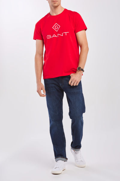 TRI?KO GANT D1. GANT LOCK - UP SS T - SHIRT