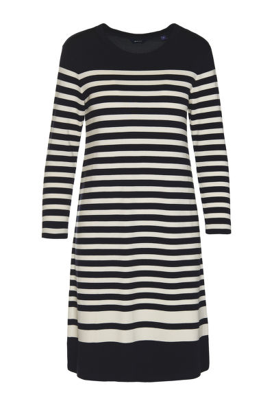 ?ATY GANT D1. STRIPED SHIFT DRESS