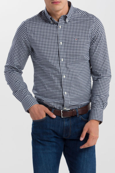KOŠILE GANT THE BROADCLOTH GINGHAM SLIM BD