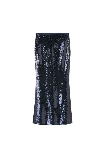 SUKNĚ GANT G1. FULL LENGTH SEQUIN SKIRT
