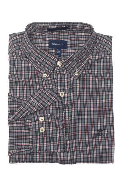 KOŠILE GANT D2. WINDBLOWN OXFORD CHECK REG BD