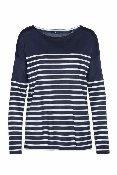 TRI?KO GANT O1. LIGHT WEIGHT STRIPED TOP