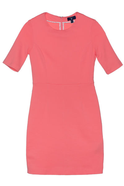 Šaty JERSEY PIQUE STRETCH DRESS