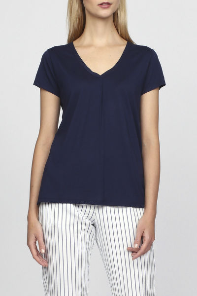 Top GANT O2. BLOUSE SS TOP