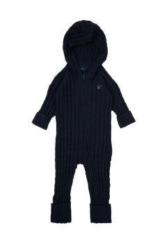 BODY GANT COTTON CABLE ZIP COVERALL