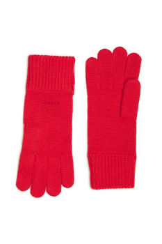 RUKAVICE GANT D1. SOLID KNIT GLOVES