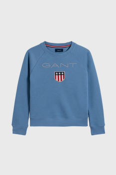 MIKINA GANT D1. GANT SHIELD LOGO C-NECK SWEAT