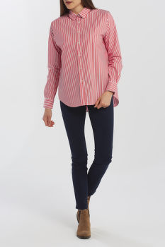 KOŠILE GANT D1. TP BC STRIPED OVERSIZED SHIRT