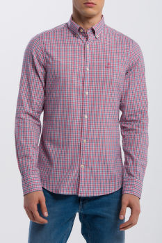 KOŠILE GANT O1. WINDBLOWN OXFORD CHECK REG BD