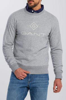 MIKINA GANT LOCK UP C - NECK SWEAT