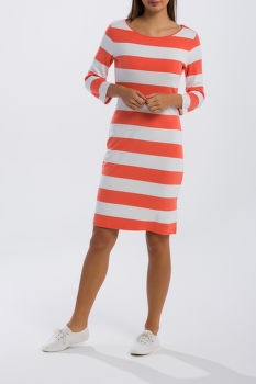 ŠATY GANT O1. BARSTRIPED SHIFT DRESS