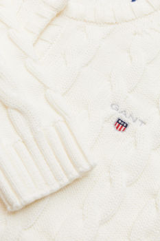 SVETR GANT COTTON CABLE CARDIGAN
