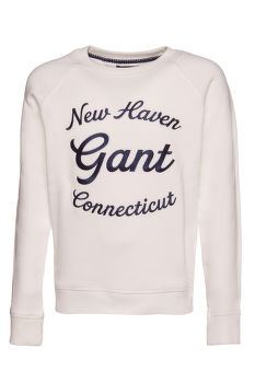 MIKINA GANT D1. GANT SCRIPT C-NECK SWEAT