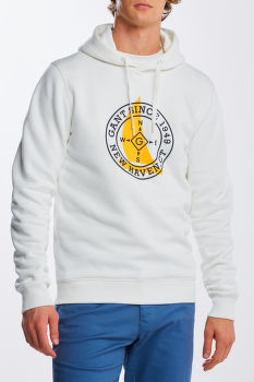 MIKINA GANT D1. NAUTICAL SWEAT HOODIE