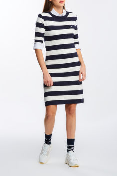 ŠATY GANT D1. BAR STRIPED JERSEY DRESS