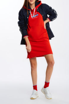 ŠATY GANT D1. NAUTICAL HOODIE DRESS