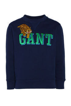MIKINA GANT D1. TROPICAL CAT C-NECK SWEAT