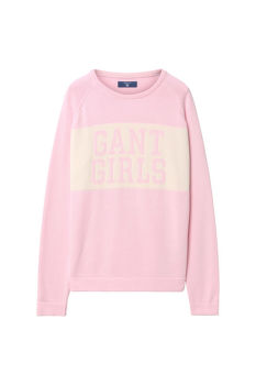 SVETR TG. GANT GIRLS CREW SWEATER