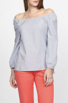 Košile GANT O1. PREPPY STRIPED BLOUSE