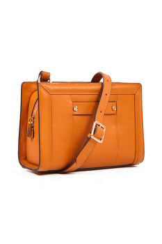 KABELKA GANT D1. CLUB LEATHER CROSS BAG
