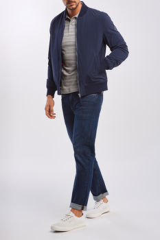 BUNDA GANT D1. THE LIGHT ACTIVE VARSITY JKT